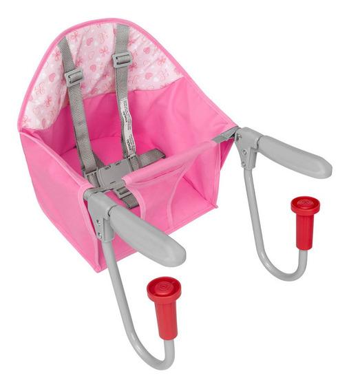 Cadeira De Refeição Para Mesa Fit Rosa Tutti Baby