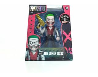 Muñeco Suicide Squad The Joker Boss Metal Die Cast Jada