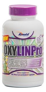 Termogênico Usa Oxylin Pro 90 Caps Arnold Com Nota Fiscal