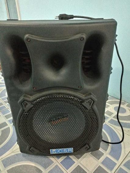 Caixa De Som + Microfone Gratis 19som Csr 3000a