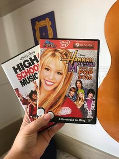 Dvd Hannah Montana + High School Musical 3