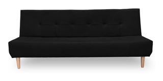 Sofa Cama Click Clack 3 Posiciones Mabel 180 X 75 Barthon