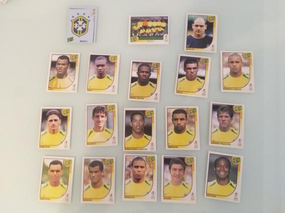 Figurinhas Copa 2002