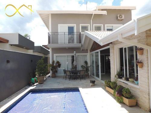 Casa Com 3 Dormitórios À Venda, 280 M² Por R$ 1.150.000,00 - Condomínio Terras Do Fontanário - Paulínia/sp - Ca2102