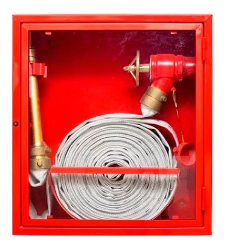 Imagen 1 de 9 de Combo Incendio Gabinete + Lanza + Mang. 30mt + Válvula 2.1/2
