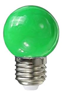 Pack X 10 Lampara Gota 24w Colores Opal E27 Guirnaldas