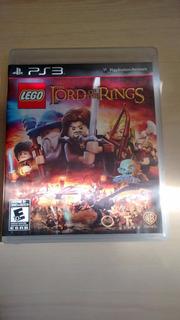 Lego Lord Of The Rings Para Ps3 - Usado