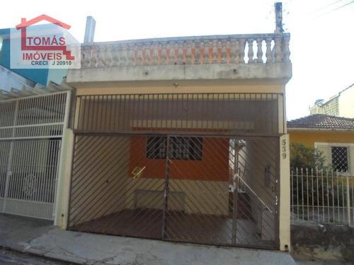 Imagem 1 de 17 de Sobrado  Residencial À Venda, Chácara Inglesa,pirituba São Paulo. - So1195