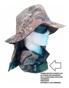 Sombrero Tactica Caceria Hojas Camuflaje Envio Gratis