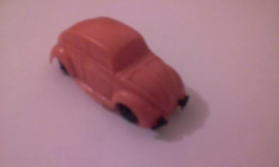 Carro Toddy Vw Fusca Laranja 1/64 - Anos 60