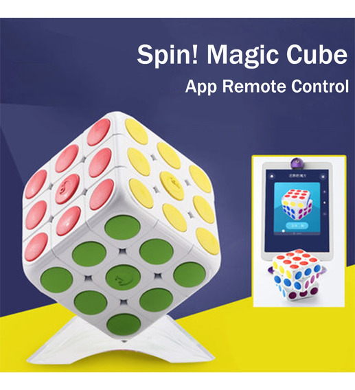 Super Smart Cube App Controle Remoto Brinquedos Educativos C
