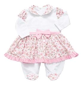 Roupa De Bebe | Roupas Recem Nascido | Macacão Feminino 6.34