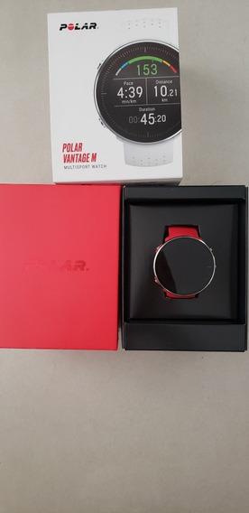 Relógio Polar Vantage M Vermelho