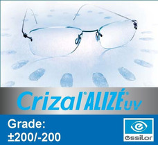 cac6eaccf Lente Para Oculos Crizal Alize - Óculos no Mercado Livre Brasil