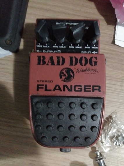 Pedal Para Guitarra Stereo Flanger Washburn Bad Dog