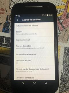 Celular Moto E E2 8gb Solo Telefono Libre Funciona Todo Ver