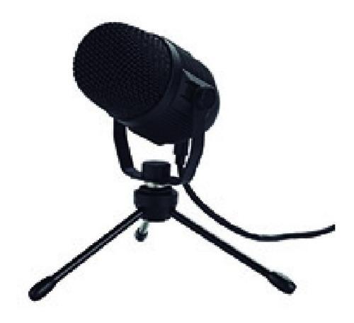 Imagen 1 de 1 de Microfono Gaming Para Streaming Usb Tipo C Con Base