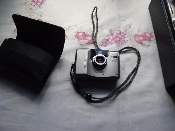 Camera Olimpus Izon2000 C/estojon E Bateria Reserva