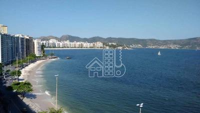 Apartamento Com 3 Dormitórios Para Alugar, 155 M² Por R$ 3.500/mês - Ingá - Niterói/rj - Ap2608