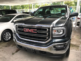 Gmc Sierra 5.4 Cabina Regular Sle 4x4 At 2018 Negro