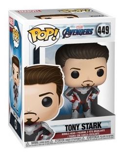 Funko Pop Avengers Endgame 449 Tony Stark Nuevo Magic4ever