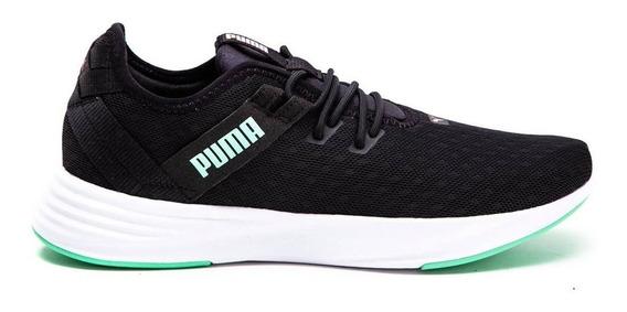 Zapatillas Mujer Puma Radiate Xt Pattern Negro/aqua