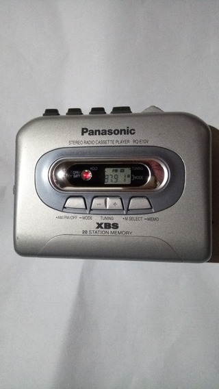 Walkmam Panasonic Rqe10v Com Xbass