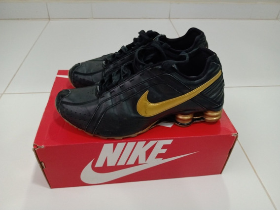 Tenis Nike Shox Junior Masculino 4 Molas 27,5 Nº 41 Original