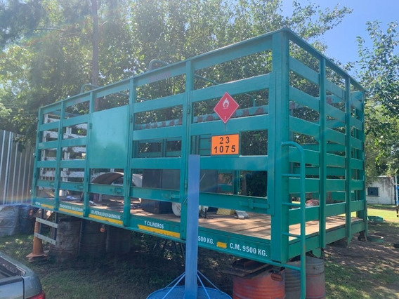 Vendo Carroceria Garrafera Todo Puerta Pìso Madera Pulgada