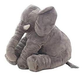 Elefante Almofada Pelúcia 70 Cm Anti-alérgico