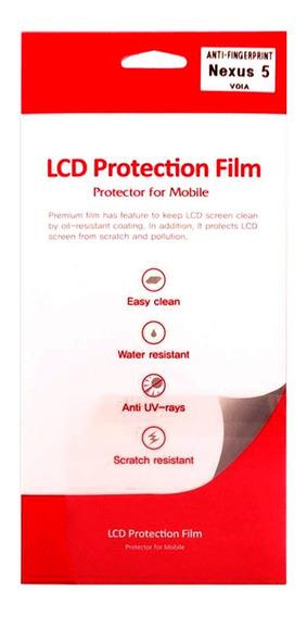 Película Protetora Transparente Anti-finger Lg Nexus 5 Voia