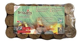 Carbón Ecológico Sustituto (briquetas Ecológicas Para Asar)