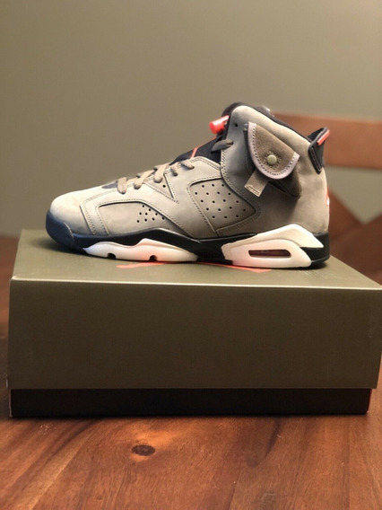 Tenis Nike Air Jordan 6 X Travis Scott I Encomenda