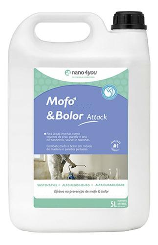 Imagem 1 de 8 de Limpa  Purifica E Previne Mofo & Bolor Attack - Performance