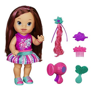 Baby Alive Play .n Style Christina Doll (morena)