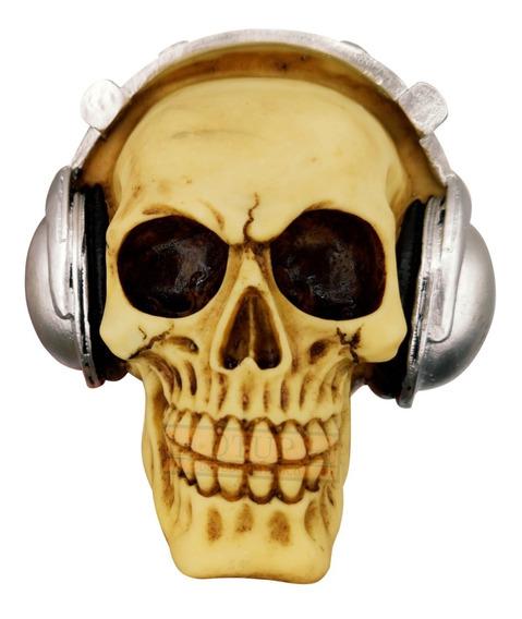 Cranio Headphone Style Fones De Ouvido Morte Caveira Oferta