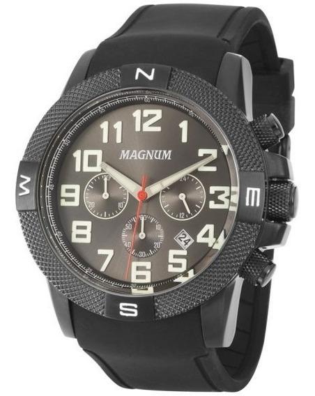 Relógio Masculino Magnum Ma34861g Esportivo Cronógrafo