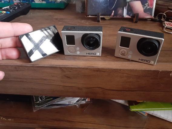 Duas Câmeras Gopro Hero 3 Para Aproveito De Peças