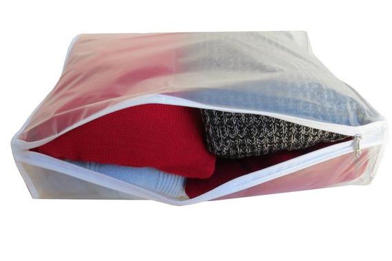 Pack De 6 Fundas C/cierre Guardá Pullovers Sweaters Imperm.