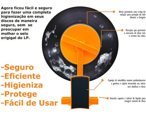 Máquina Limpeza Discos De Vinil - Vil Cleaner - Er Pires