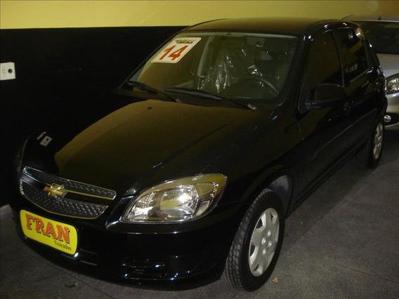 Chevrolet Celta Lt Motor 1.0 2014 Preto 4 Portas