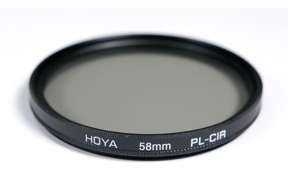 Filtro Polarizador Circular Hoya 58mm Cir-pl