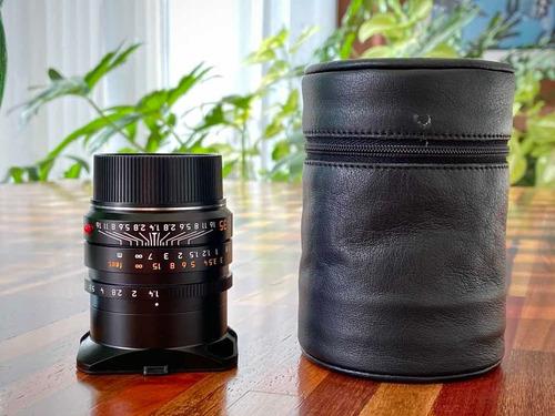 Leica Summilux-m 35mm F/1.4 Asph 11663 Impecável