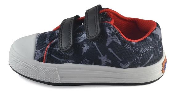 Zapatilla Abrojo Estampado Hard Rock Small Shoes
