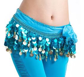 Fajilla De Lentejuelon Varios Colores Danza Arabe Bellydance