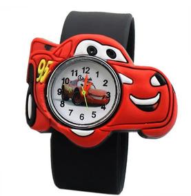 Relógio Infantil Masculino Carros