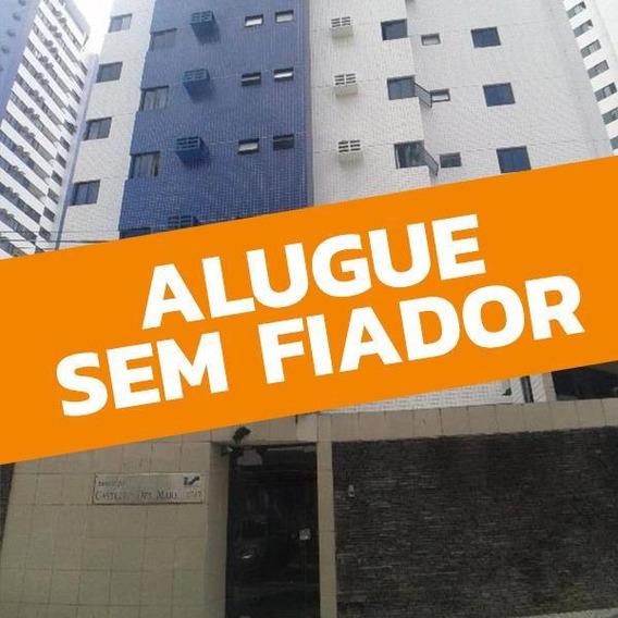 Apartamento Com 3 Quartos Para Alugar, 98 M² Por R$ 1.800/mês - Boa Viagem - Recife/pe - Ap0626