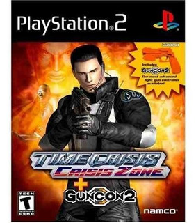 Time Crisis Crisis Zone With Gun - Playstation 2
