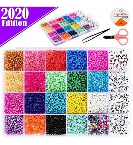 Funzbo Beads Kit De Fabricacion De Joyas Cuentas Para Pulser