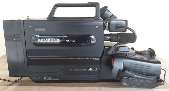 Filmadora Samsung Sc-f501 Vhs (raridade)*(com Defeito)